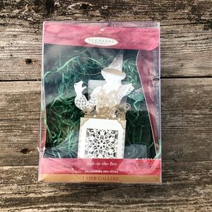 Hallmark Ornament Laser Gallery Jack-In-The Box